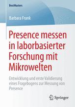 Presence messen in laborbasierter Forschung mit Mikrowelten