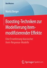 Boosting-Techniken zur Modellierung itemmodifizierender Effekte