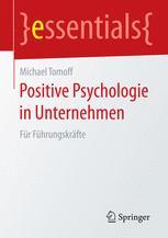 Positive Psychologie in Unternehmen