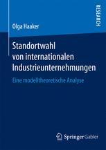 Standortwahl von internationalen Industrieunternehmungen