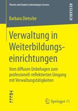 Verwaltung in Weiterbildungseinrichtungen