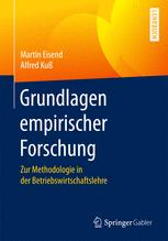 Grundlagen empirischer Forschung