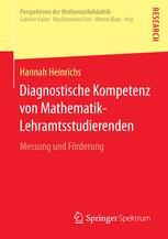 Diagnostische Kompetenz von Mathematik-Lehramtsstudierenden