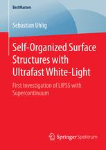 Self-Organized Surface Structures with Ultrafast White-Light
