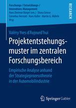 Projektentstehungsmuster im zentralen Forschungsbereich