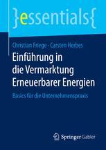 Einführung in die Vermarktung Erneuerbarer Energien