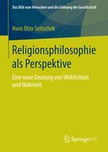 Religionsphilosophie als Perspektive