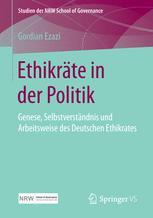 Ethikräte in der Politik