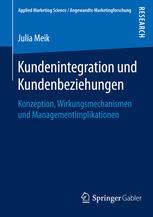 Kundenintegration und Kundenbeziehungen