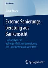 Externe Sanierungsberatung aus Bankensicht