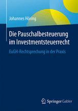 Die Pauschalbesteuerung im Investmentsteuerrecht