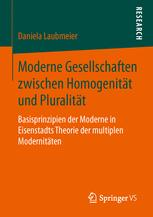 Moderne Gesellschaften zwischen Homogenität und Pluralität