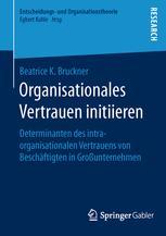 Organisationales Vertrauen initiieren