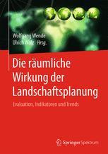 Die räumliche Wirkung der Landschaftsplanung