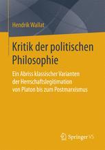 Kritik der politischen Philosophie