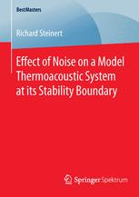 Effect of Noise on a Model Thermoacoustic System at its Stability Boundary