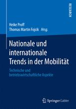 Nationale und internationale Trends in der Mobilität