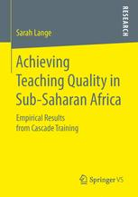 Achieving Teaching Quality in Sub-Saharan Africa