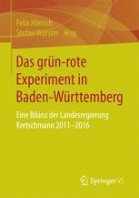 Das grün‐rote Experiment in Baden-Württemberg