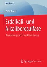 Erdalkali- und Alkaliborosulfate
