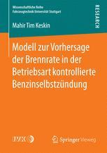 Modell zur Vorhersage der Brennrate in der Betriebsart kontrollierte Benzinselbstzündung