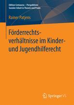 Förderrechtsverhältnisse im Kinder- und Jugendhilferecht