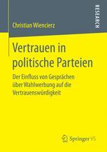 Vertrauen in politische Parteien