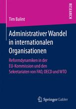 Administrativer Wandel in internationalen Organisationen