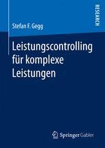 Leistungscontrolling für komplexe Leistungen