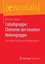 Cobaltgruppe: Elemente der neunten Nebengruppe