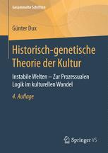 Historisch-genetische Theorie der Kultur