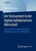 Der Konsument in der digital-kollaborativen Wirtschaft