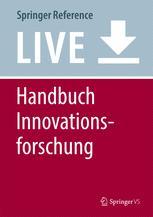 Handbuch Innovationsforschung