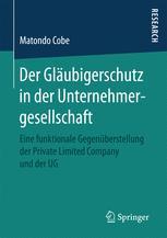 Der Gläubigerschutz in der Unternehmergesellschaft