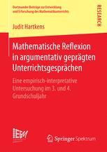Mathematische Reflexion in argumentativ geprägten Unterrichtsgesprächen