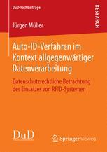 Auto-ID-Verfahren im Kontext allgegenwärtiger Datenverarbeitung