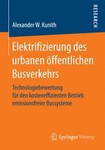 Elektrifizierung des urbanen öffentlichen Busverkehrs