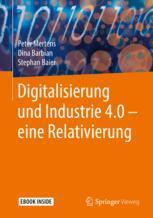 Digitalisierung und Industrie 4.0 – eine Relativierung