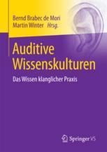 Auditive Wissenskulturen