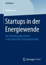 Startups in der Energiewende