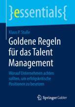 Goldene Regeln für das Talent Management