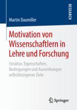 Motivation von Wissenschaftlern in Lehre und Forschung