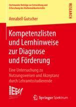 Kompetenzlisten und Lernhinweise zur Diagnose und Förderung