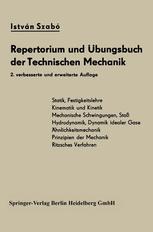 Repertorium und Übungsbuch der Technischen Mechanik