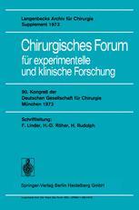 Chirurgisches Forum für experimentelle und klinische Forschung