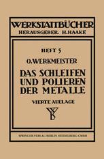 Das Schleifen und Polieren der Metalle