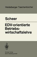 EDV-orientierte Betriebswirtschaftslehre