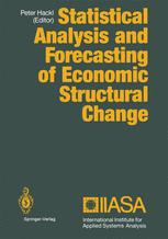 Statistical Analysis and Forecasting of Economic Structural Change