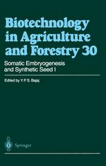 Somatic Embryogenesis and Synthetic Seed I