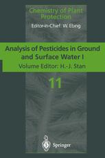 Analysis of Pesticides in Ground and Surface Water I